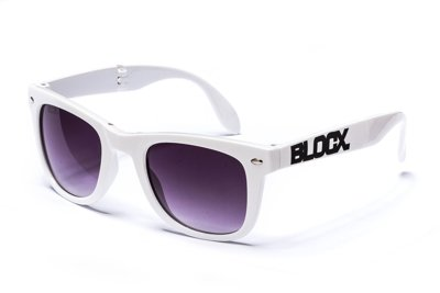 Okulary Blocx White Gadget 221