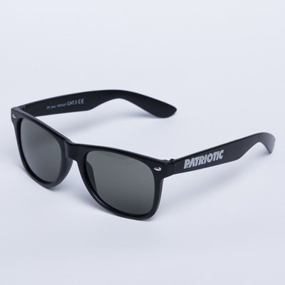 Okulary Patriotic Classic Black Gray 695