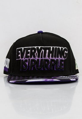 Snap Cayler & Sons Everything Is Purple Cap czarno fioletowy
