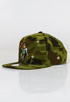 Snap Mitchell & Ness NBA Camo Star Boston Celtics