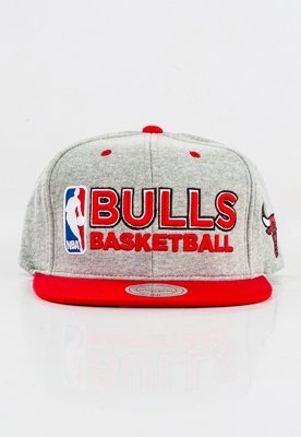 Snap Mitchell & Ness NBA Heather Jersey Chicago Bulls