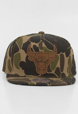 Snap Mitchell & Ness NBA Lux Camo Chicago Bulls