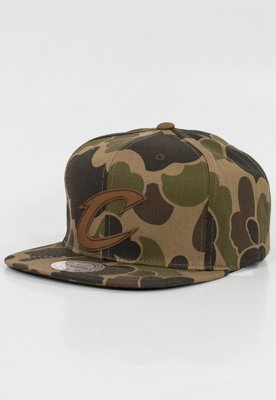 Snap Mitchell & Ness NBA Lux Camo Cleveland Cavaliers