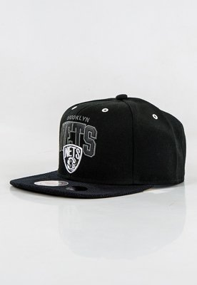 Snap Mitchell & Ness NBA Marked Brooklyn Nets