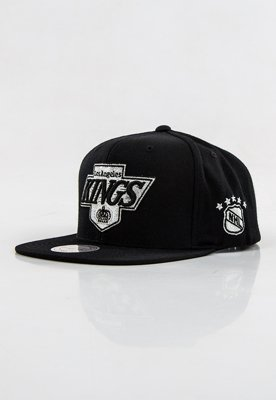 Snap Mitchell & Ness NBA Metallic Logo Los Angeles Kings