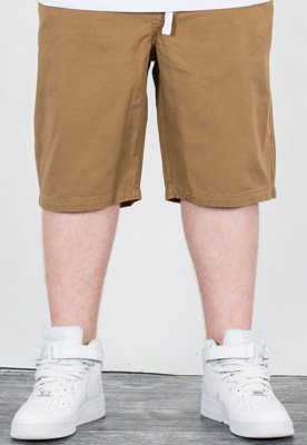 Spodenki Mass Jogger Straight Fit Base beige