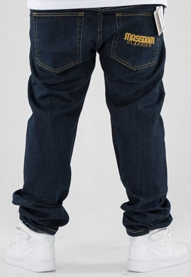 Spodnie Mass Classics Straight Fit dark blue