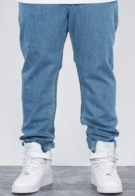 Spodnie Mass Jogger Base Sneaker Fit light blue