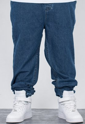 Spodnie Mass Jogger Drop Loose Fit blue