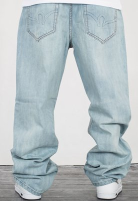 Spodnie Rocawear RJ00J9914B lighter wash