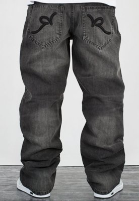 Spodnie Rocawear RJ00J9914E dark grey wash