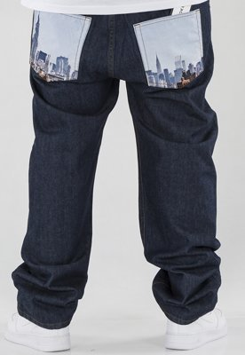 Spodnie SSG Baggy City Pocket dark blue