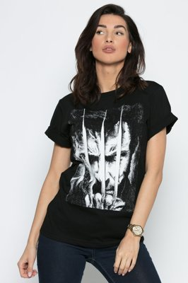 T-shirt Diamante Wear Logan Unisex czarny