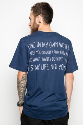 T-shirt Diamante Wear My Life 2 granatowy