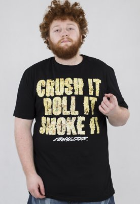 T-shirt Equalizer Crush It czarny