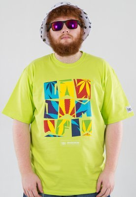 T-shirt Ganja Mafia Summer zielony