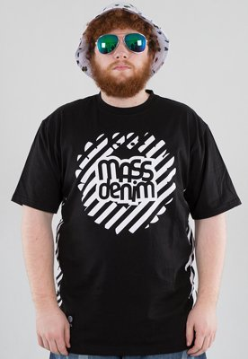 T-shirt Mass Stripes czarny