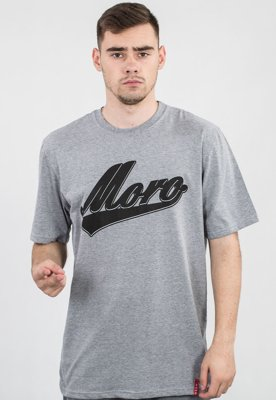 T-shirt Moro Sport Baseball Shadow szary