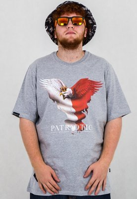 T-shirt Patriotic Eagle 2 szary