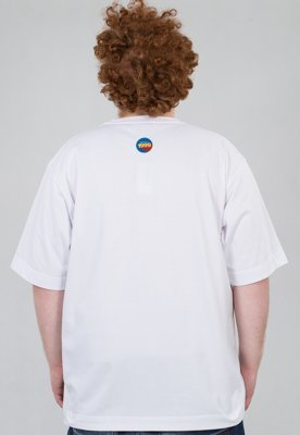 T-shirt Stoprocent Baggy Arcade Tag biały