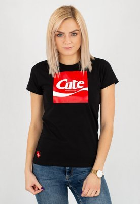 T-shirt Stoprocent Cute 17 czarny