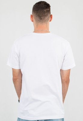 T-shirt Stoprocent Slim Base biały