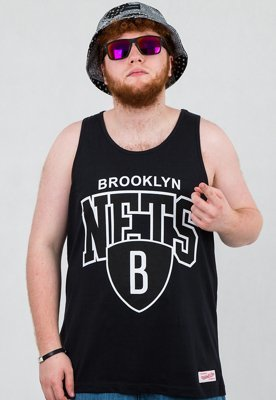 Tank Mitchell & Ness NBA Brooklyn Nets czarny