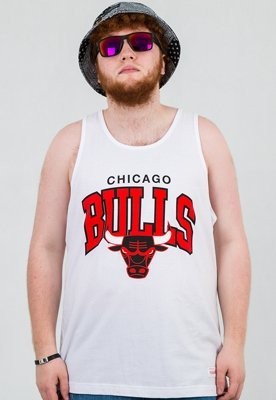 Tank Mitchell & Ness NBA Chicago Bulls biały