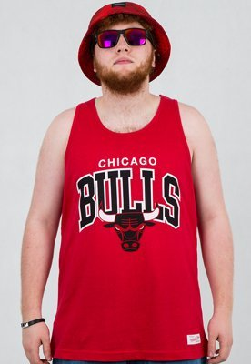 Tank Mitchell & Ness NBA Chicago Bulls czerwony