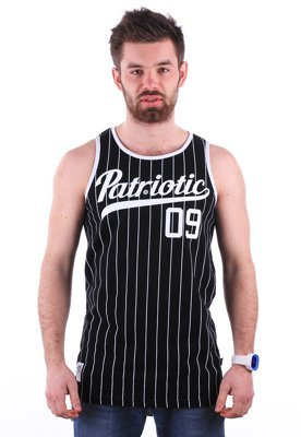 Tank Patriotic Athletic czarny