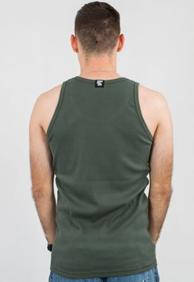 Tank Stoprocent Ribb Long Tag17 khaki